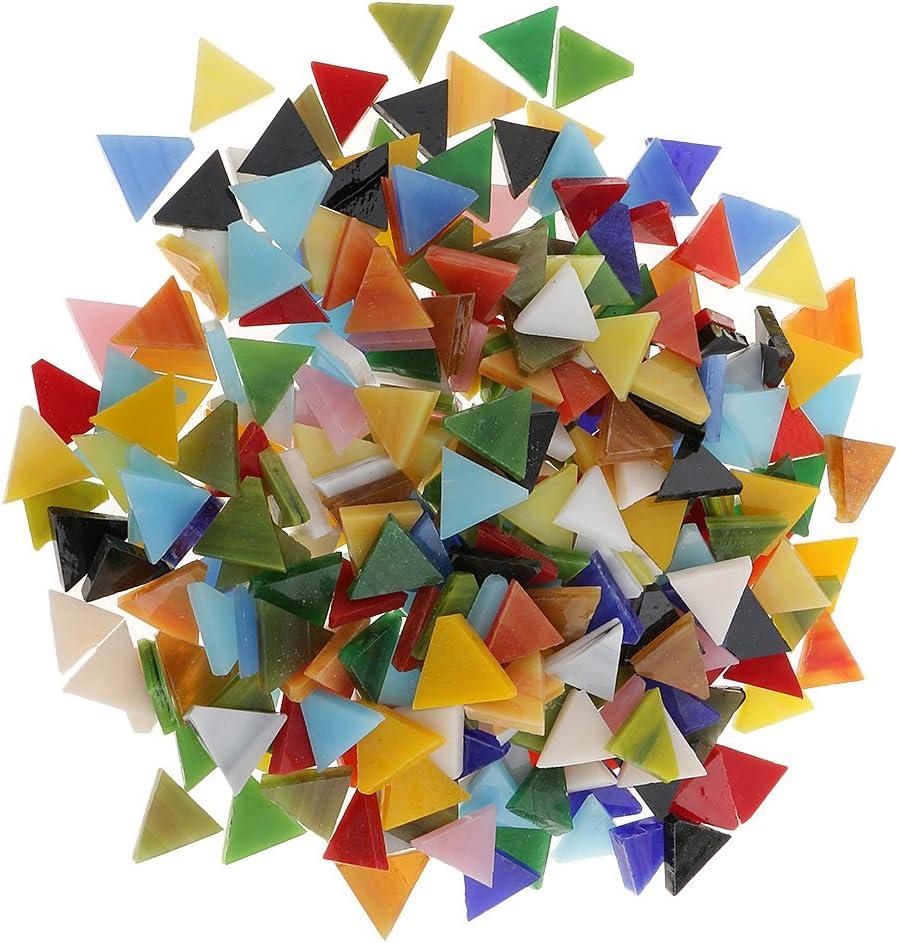 Rombo sharprepublic Molte Tessere di Mosaico di Vetro Colorato Stile Tessera per Giocattoli Artigianali Artigianali Fai da Te