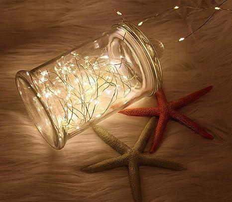 Amazon.com: Wsgift - Guirnalda de luces LED de 20 pies con ...