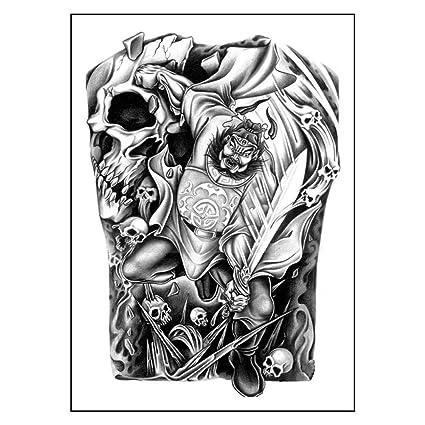 UEB tatuaje falso tatuaje temporal, tatuaje dorado para mujer ...