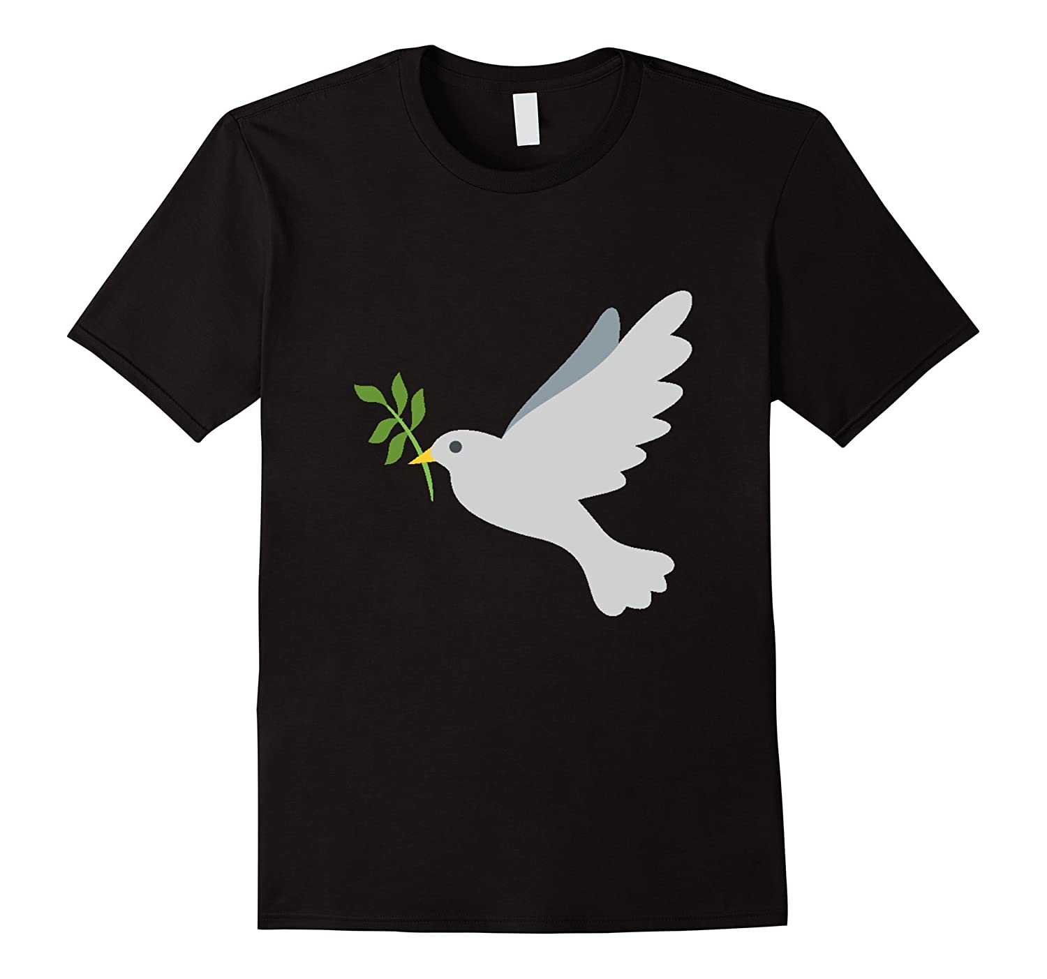Dove Emoji t-shirt Peace Love Hope Symbol Bird Fly Sky-RT