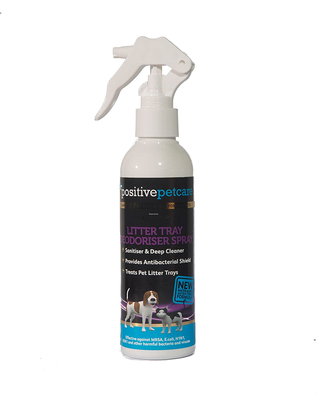 Positive Petcare Desodorante para Gatos de 14 días, Elimina olores y olores de orina, fórmula antibacteriana de Larga duración, Base de Agua, ...