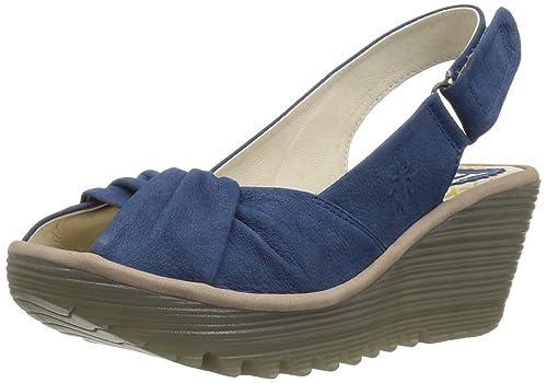e26b63c513f0 Fly London Women s Yata820fly Wedge Sandal  Amazon.co.uk  Shoes   Bags