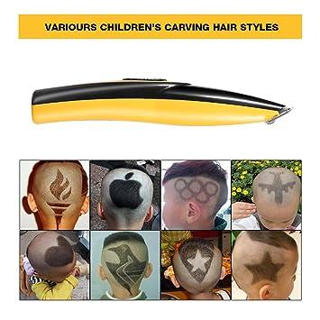 Elektrische Haarschneidemaschine Fur Erwachsene Kinder Carving Haar Usb Wiederaufladbare Muster Brief Haarschneider