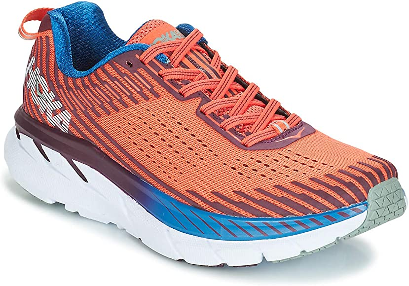 HOKA ONE One Clifton 5 Deportivas Femmes Rojo - 42 - Running/Trail ...