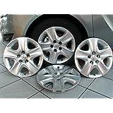 4 x Original Opel/Vauxhal Astra H Meriva B Zafira B Hubcap 16 Inch 1006296 13337257