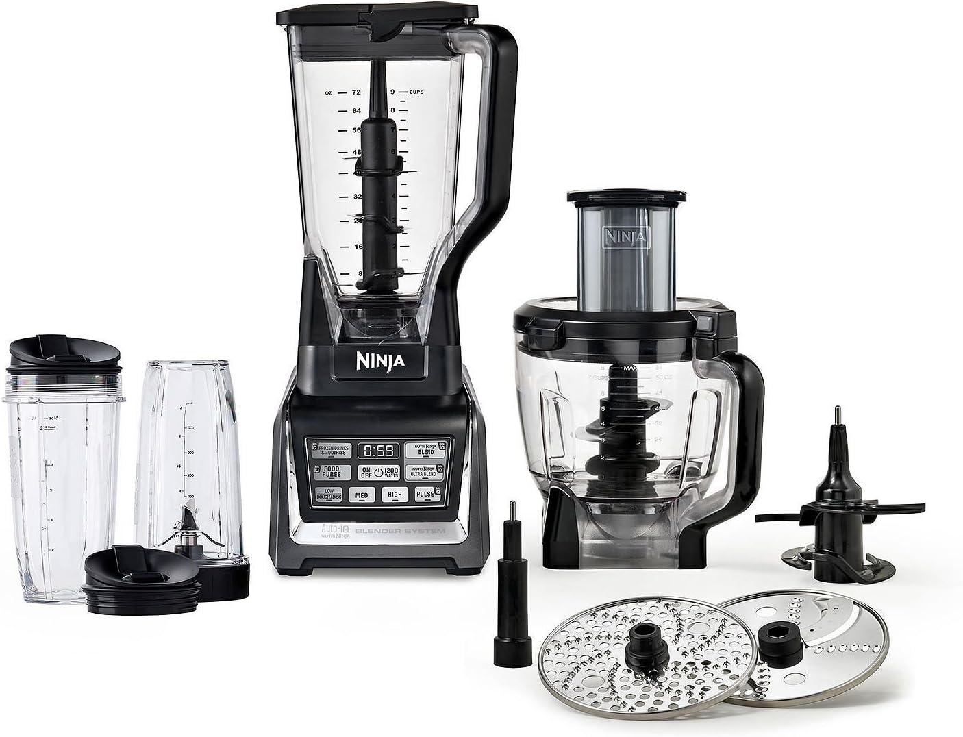 Amazon.com: Nutri Ninja Auto-IQ - Sistema de cocina (1500 W ...