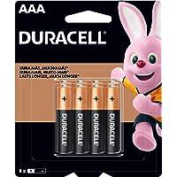 Pilha Alcalina AAA Palito DURACELL com 8 unidades