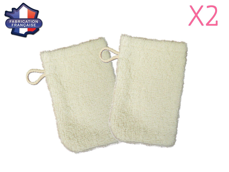 MODULIT  Lot de 2 petits gants de toilette d apprentissage pour bébé enfant  Ecru  Amazon.fr  Bébés   Puériculture 50e2b0f42cc