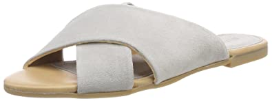 Bianco Damen Cross Slipper  38 EUGrau (Grey)