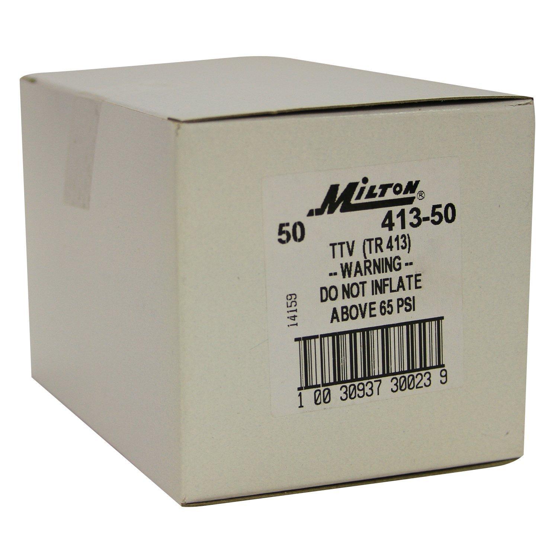 Milton 413-50 1 1/4'' Tubeless Tire Valve - Box of 50 by Milton Industries