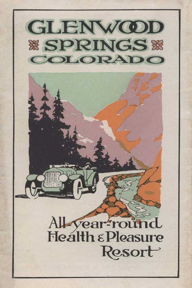 Glenwood Springs, Colorado - Health Resort #1 - Vintage Advertisement (24x36 SIGNED Print Master Giclee Print w/ Certificate of Authenticity - Wall Decor Travel Poster)
