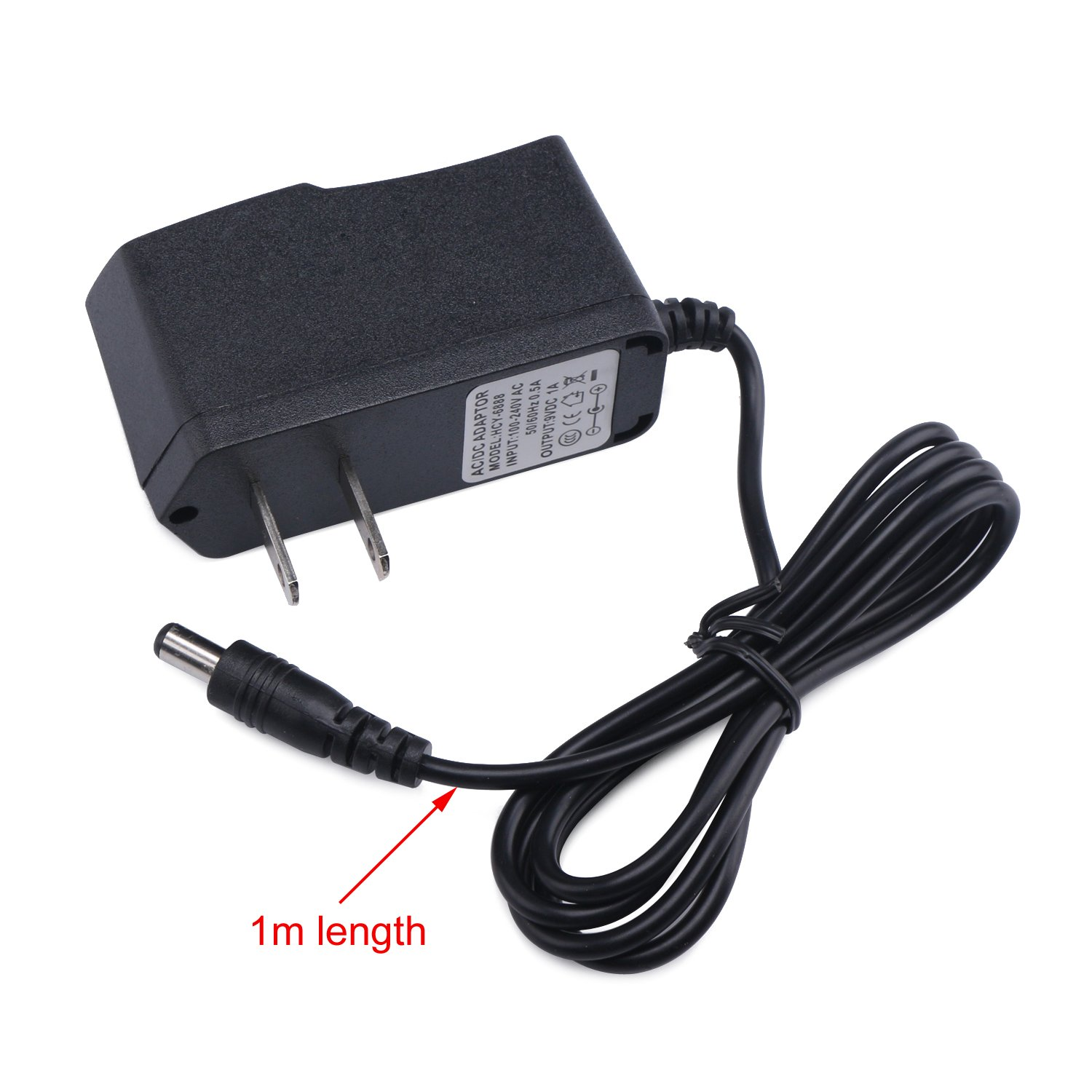 DROK 091038 9V 1A Power Adapter 1000MA Tablet PC Switching Power Supply Regulator 110V 220V AC Input USA Plug for ADSL Router Devices by DROK (Image #6)