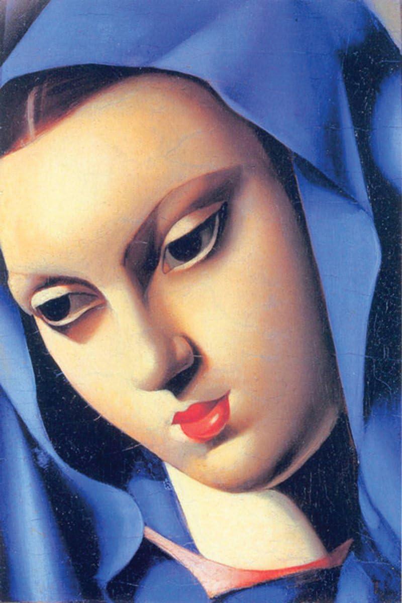 Vierge Bleue Stretched Canvas 24x36 Eurographics 1751-65849 Lempicka