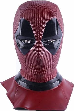 FUGUI máscara de Deadpool, Disfraz de Cosplay para Aficionados ...