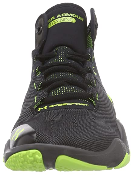huge selection of b8cc6 562a9 Amazon.com   Under Armour Mens Speedform Phenom, Charcoal Yellow, 7.5 D    Fitness   Cross-Training