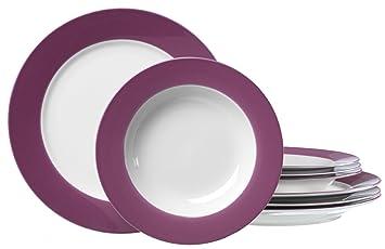 Ritzenhoff U0026 Breker Doppio 596687 Dinner Set 8 Pieces Purple