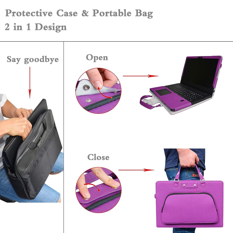 Sac Portable Sacoche pour 13.3 Lenovo Yoga 730 13 730-13IKB Ordinateur,Noir Labanema Yoga 730 13 Housse,2 en 1 sp/écialement con/çu Etui de Protection en Cuir PU