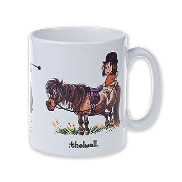 ThelwellRobust Style Ponies Cambridge Mug Earthenware 1 By X ZTPkuXiwO