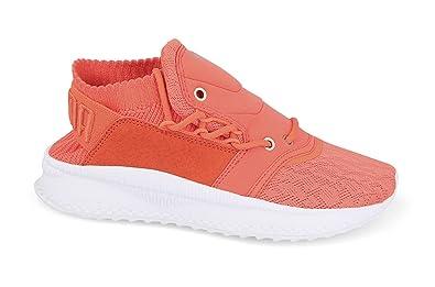 b8e278e32b3 Image Unavailable. Image not available for. Colour  Puma Women s Tsugi  Shinsei Lace Wn S Hot Coral Sneakers-4.5 ...