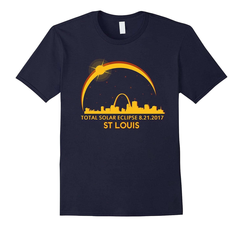 St Louis Missouri Total Solar Eclipse 8/21/2017 T-shirt-BN