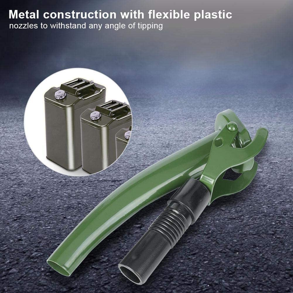 Flexible Jerry Can Spout Metal Fuel Can Nozzle for all Non-CARB NATO style Jerry Cans East buy Nozzle