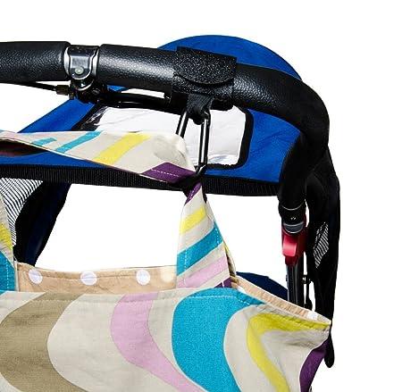Amazon.com : Cochecito Clips por - Lujo velcro Cochecito Ganchos Prefecto de bolsas para pañales, juguetes, bolsos, accesorios del cochecito, ...