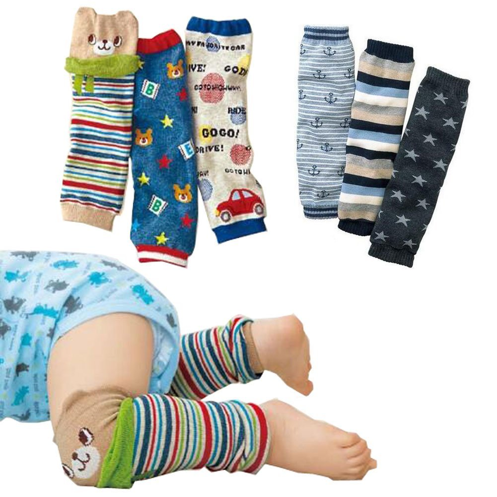 Lucky staryuan ® Prime Deals Set of 6 Baby Leg Warmer Toddler Kneepads luckystaryuan bhx100ca