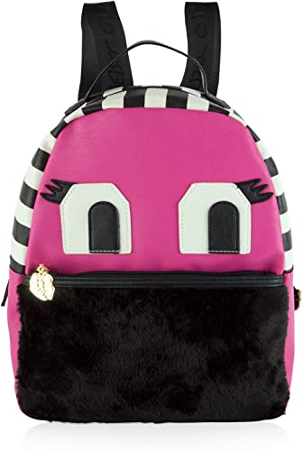 LUV BETSEY by Betsey Johnson Monster Tazzy Backpack - Fushia