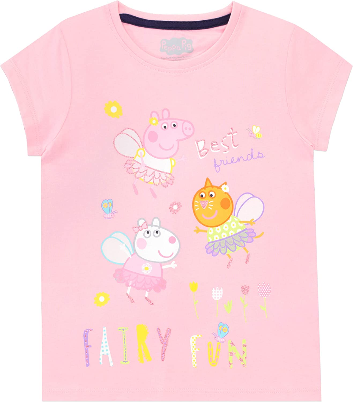 Peppa Pig Girls T-Shirt Pack of 2