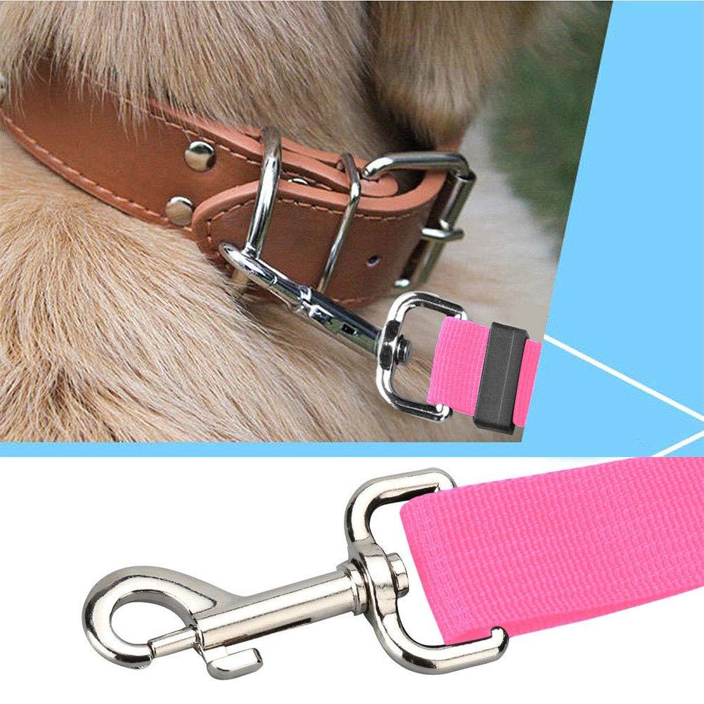con Cintura di Sicurezza per Sedile Posteriore per Cani e Gatti Colore Nero SYN Guinzaglio Regolabile per Cani e Gatti Comodo da Usare
