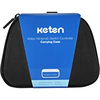 Carry Case for Switch Pro Controller, Keten Protective Hard Portable Travel Carrying Case Shell Pouch for Nintendo Switch Pro Controller, Also Fits for Xbox One Controller (Black)