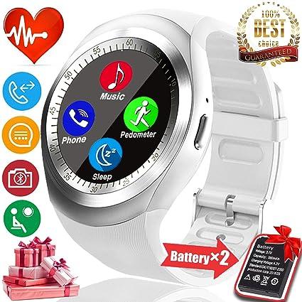 Amazon.com: Valentines Day - Reloj deportivo Bluetooth de 1 ...