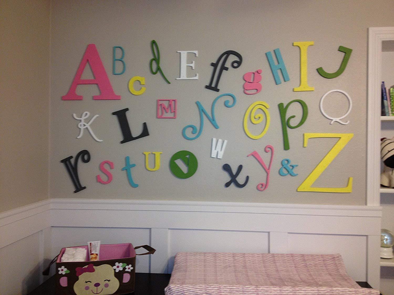 Wooden Alphabet Set Natural (unpainted) - Large