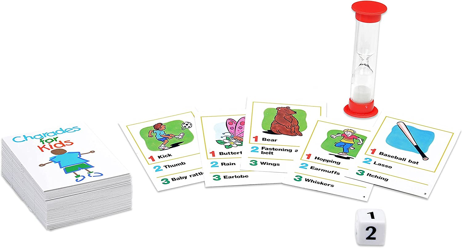 Pressman Charades for Kids board game for reading fluency