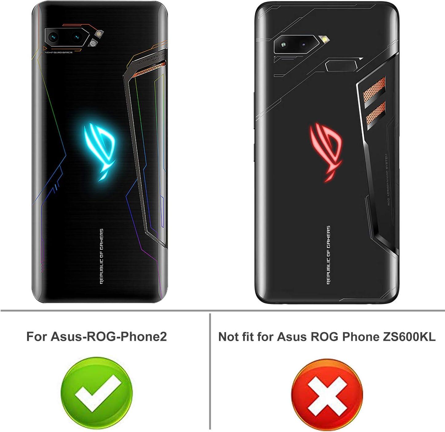 iBetter para Funda ASUS ROG Phone 2 Pro Funda, TPU con Superficie ...