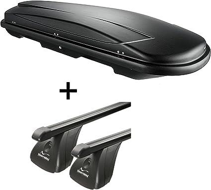 Vdp Dachbox Vdpjuxt600 600ltr Abschließbar Stahl Dachträger Aurilis Original Kompatibel Mit Ford S Max 5 Türer Ab 2015 Auto