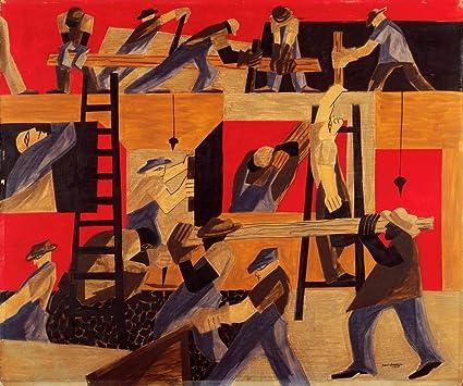 .com: berkin arts jacob lawrence giclee canvas print paintings ...