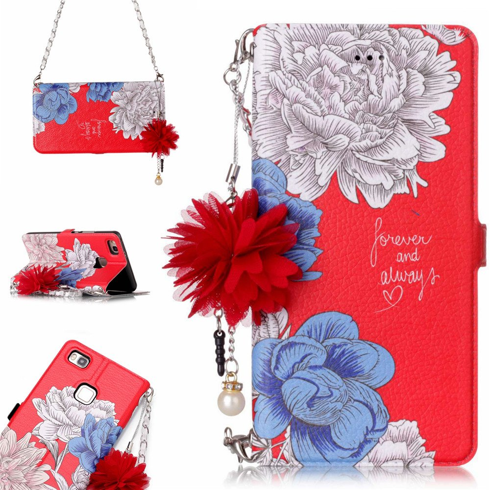 Amazon com: Phone Case for P9 Lite,XYX PU Leather Phone Case for