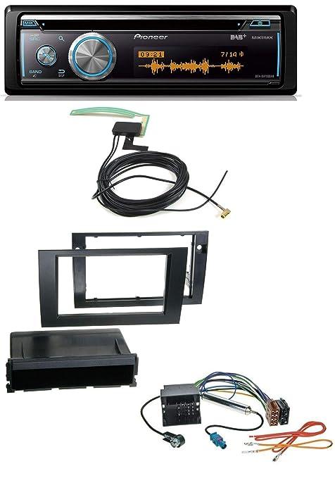 Pioneer DEH-X8700DAB Bluetooth DAB MP3 USB CD Radio de coche para Audi A4 01