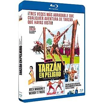 Tarzán en Peligro BDr 1963 Tarzan's Three Challenges [Blu-ray]