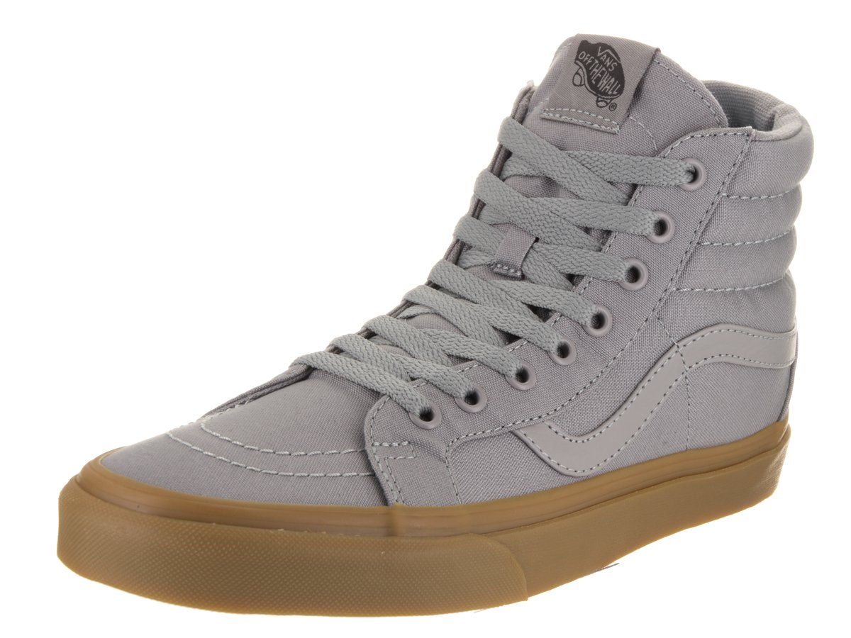VANS MENS SK8 HI REISSUE LEATHER SHOES B01DYSR6AQ 10.5 B(M) US Women / 9 D(M) US Men|Frost Gray/Light Gum