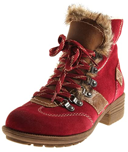 unique design the sale of shoes top brands MARCO TOZZI 2-26219 Damen Schnürboot Wildleder ...