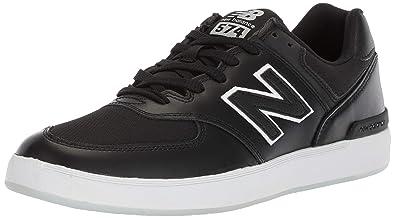 best sneakers f31c7 b2123 New Balance - 574v1 All Coast Homme, Noir (Noir Blanc), 36.5
