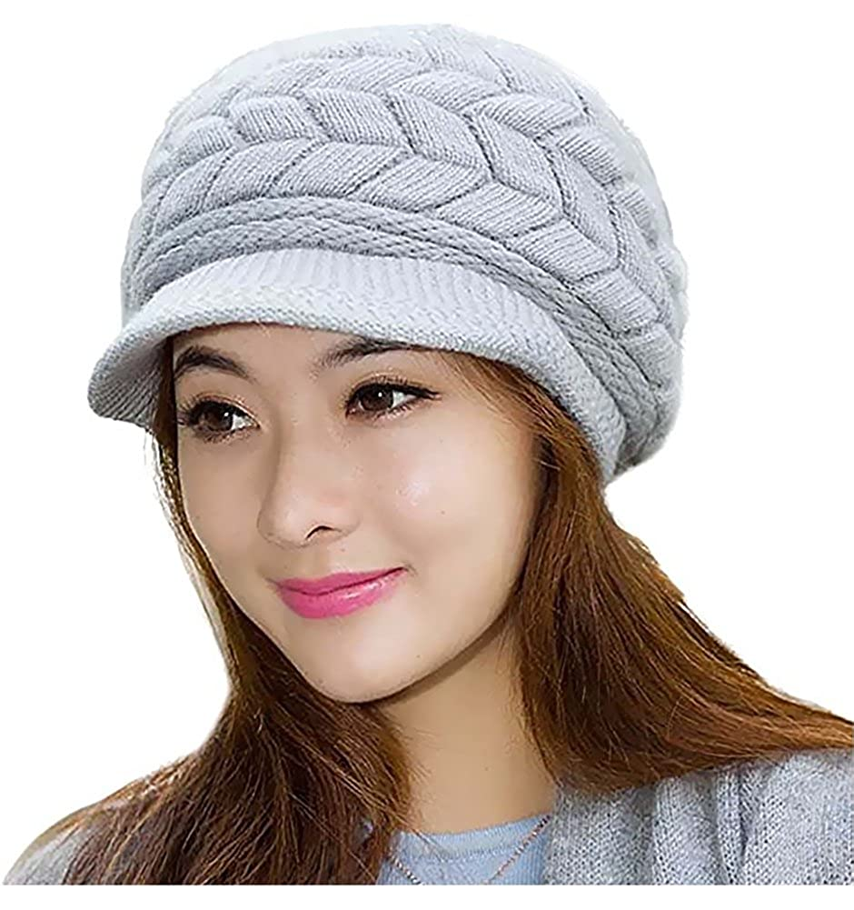 b658f87a7ce Material  The winter knitted beanie hat made of premium quality stretchy