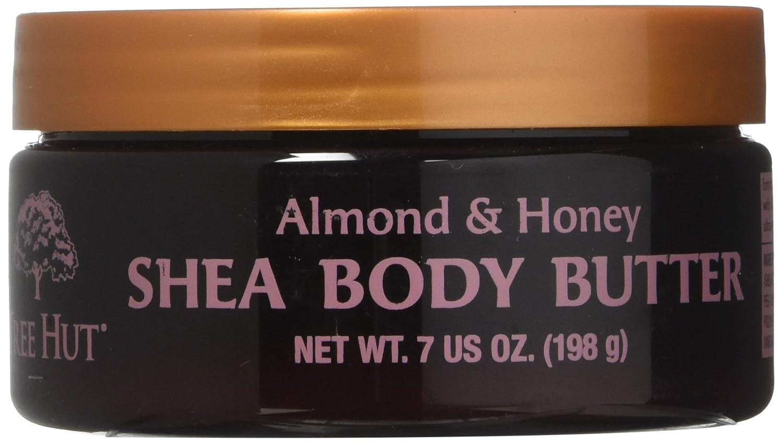 Tree Hut Shea Body Butter - Almond & Honey: 7 OZ