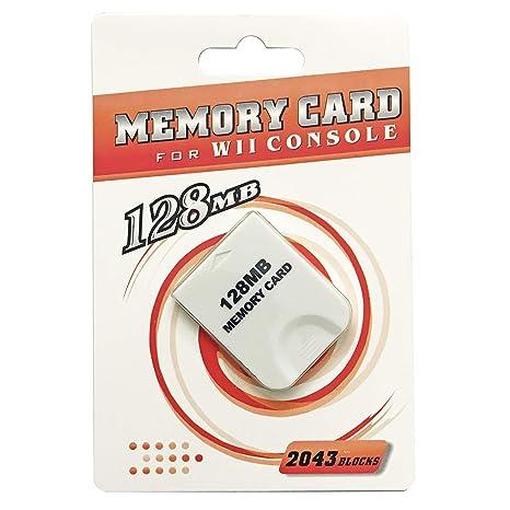 AreMe - Tarjeta de Memoria para Consola Nintendo Wii ...