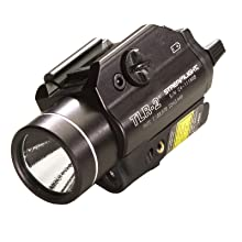 Streamlight 69120 TLR-2 C4 LED Rail-Mounted Weapon Flashlight with Laser Sight