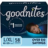 GoodNites Bedtime Underwear for Boys (Size 8 - 14 Boys - 58 ct..)