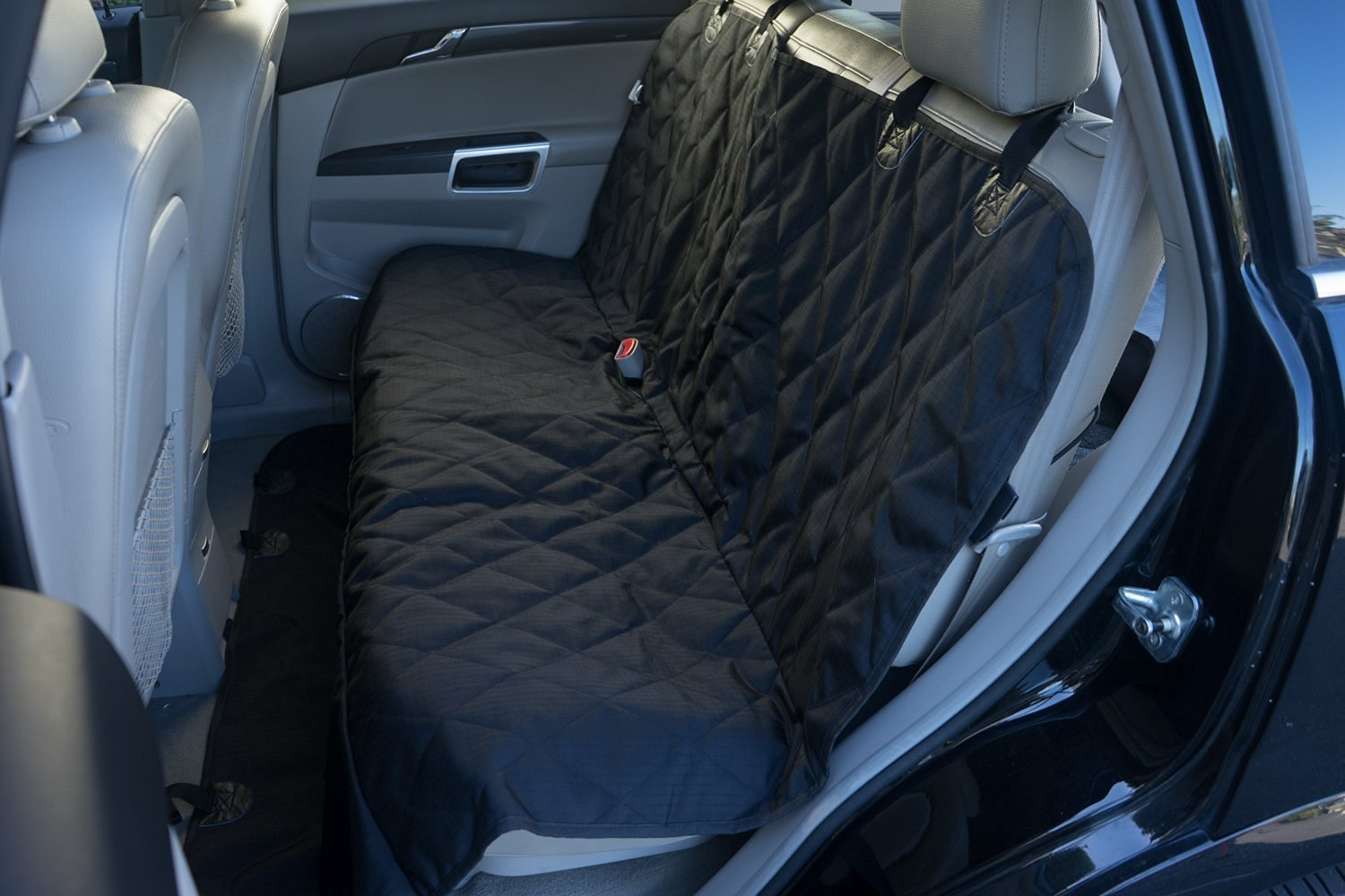 Car Seat Cover Great for Pets AND Children – Perfect for Cars, Suvs and Trucks – Easy to Install – Durable Design Pet Perfect