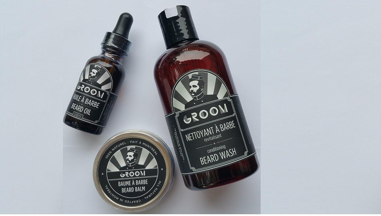 Handmade, All-Natural, Beard Oil, Beard Wash and Beard Balm Made by Groom